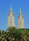 View of the Chrysler building in Dubai — Stock Photo
