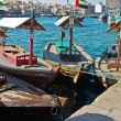 Traditional Abra ferries at the creek in Dubai, United Arab Emir — Stock Photo #16307033