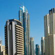 Panorama of Dubai Marina, view from the bay — Stock Photo #16317731