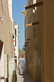 Narrow street in the old Arab town — Stock Photo