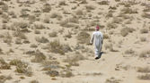 Arabian desert at noon — Stock Photo