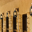 Stock Photo: Street lights on old Arab street