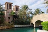 виды madinat jumeirah отель — Стоковое фото