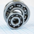 Two bearings - Stock Photo