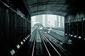 Metro stopy v spojených arabských emirátech — Stock fotografie