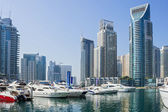 Yacht club in dubai marina — Stockfoto