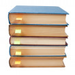 Stack of books with bookmarks — Stock Photo #2067983