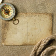 Stock Photo: Vintage background with old paper