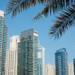 Modern buildings in Dubai Marina - Stock Photo