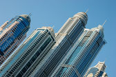Modern buildings in Dubai Marina — Stock Photo