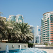 Modern buildings in Dubai Marina UAE - Photo