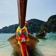 Royalty-Free Stock Photo: Traditional Thai Longtail boat on the beach of Phi Phi Don