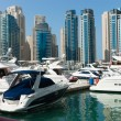 Yacht Club in Dubai Marina, Dubai, UAE. — Stock Photo