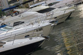 Yacht club marina di dubai — Foto Stock