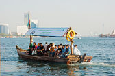 Traditional Abra ferries — Stock Photo