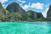 Provincia de krabi isla phi phi, tailandia — Foto de Stock