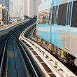 Metro in Dubai United Arab Emirates - Stock Photo