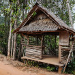 Old wooden house in tropics — Stock fotografie #22752801