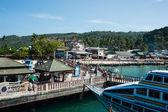 Port phi phi island Krabi Province, Thailand — Stock Photo