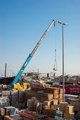 Loading a ship in Port Said, Dubai — Stock Photo