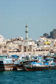 Ship in Port Said — Stock Photo