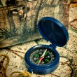 Old compass — Stock Photo #23399694