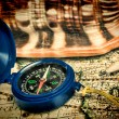 Old compass — Stock Photo #23400260