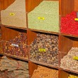 Spices on the Arab market, souk - Stock fotografie