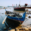 National fishing boats on the shore of the Indian Ocean phuket t - Stock Photo