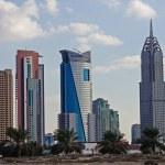 Постер, плакат: Evening view of the Chrysler building in Dubai