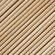 Wooden toothpicks are laid out in a number of - Stock Photo