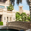 Views of Madinat Jumeirah hotel — Stock Photo