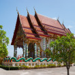 Black monk temple in the south of Thailand - Stock Photo