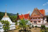 タイの南の黒い修道寺 — ストック写真