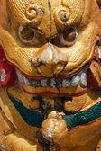 タイ南部の龍の像 — ストック写真