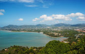 View of the Andaman Sea from the viewing point, Phuket , South o — Stock Photo