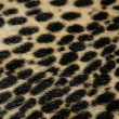 Stock Photo: Faux leopard fur texture background