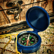 Old compass — Stock Photo #25221837
