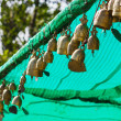 Tradition asian bell in Big Buddha temple complex, Thailand — Stock Photo