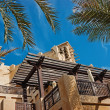 Stock Photo: Wind towers - traditional Arabic architecture