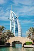 Een algemeen beeld van's werelds eerste zeven sterren luxe hotel Bu — Stockfoto