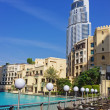 View of Hotel The Address in The Dubai Mall — Stockfoto