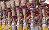 Arabic Shisha pipes — Stock Photo