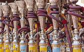 Tubos de shisha árabe — Foto Stock