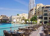 Luxury hotel in Dubai, UAE — Stock Photo