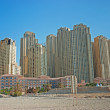 Modern buildings in Dubai Marina — Stock Photo #25927337