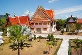 在泰国南部的黑色和尚庙 — 图库照片