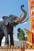 Socha slona v jižním thajsku — Stock fotografie