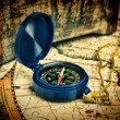 Old compass — Stock Photo #26120303