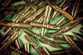 Pile of old ink pens — Stok fotoğraf